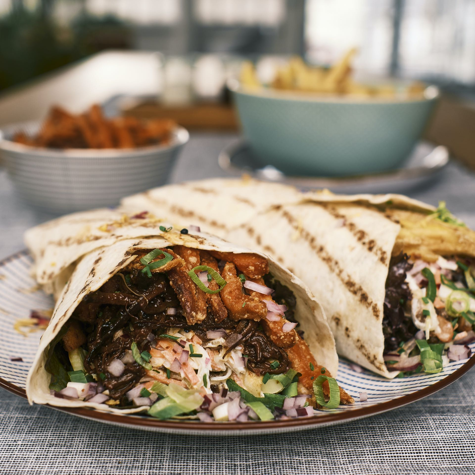 BBQ Wrap Pulled Beef