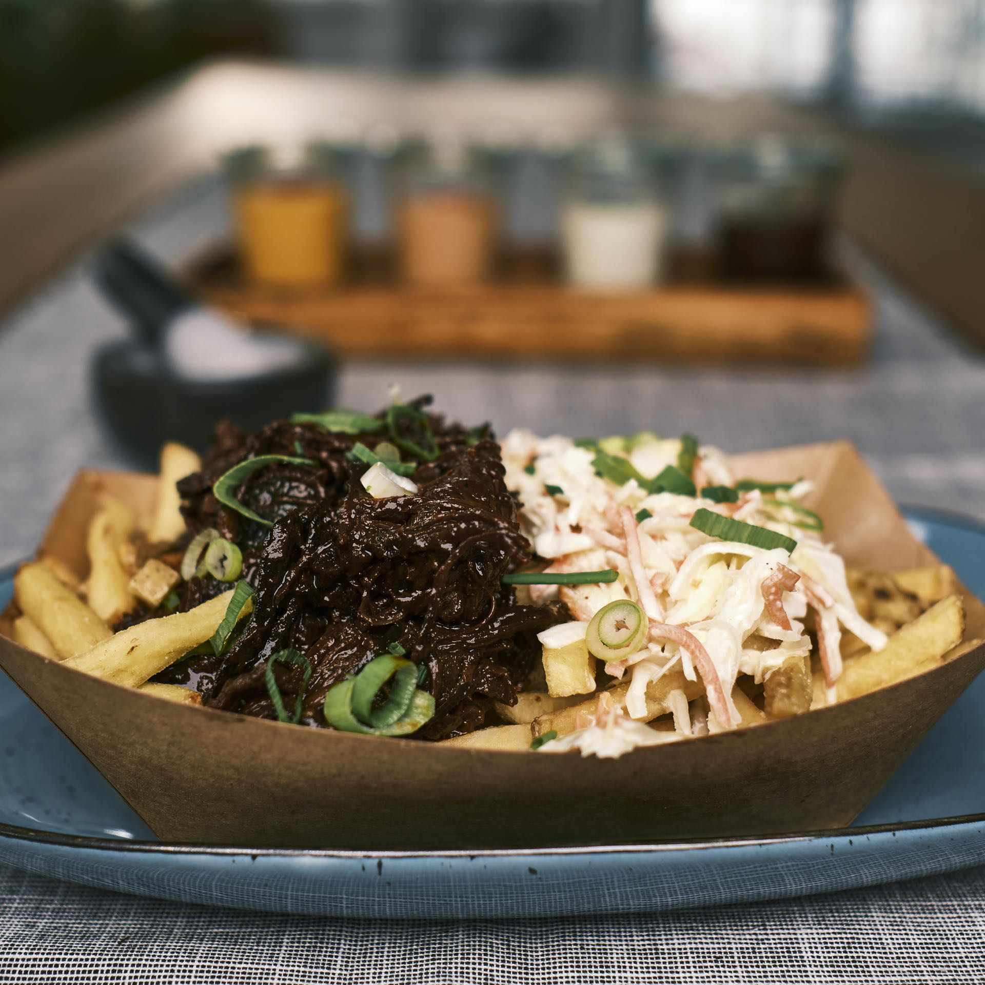 Rustic Fries Pulled Beef