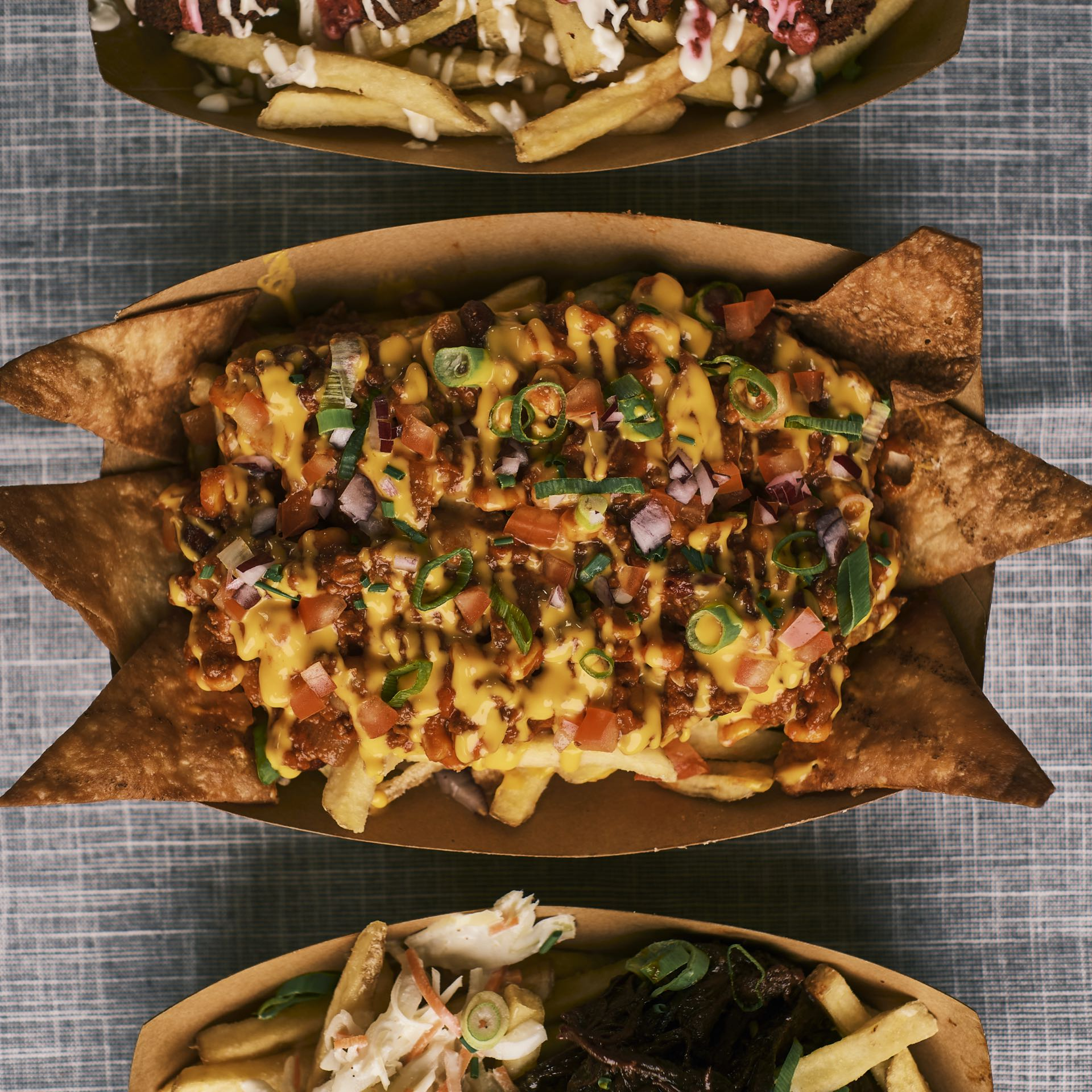 Rustic Chili Cheese Fries
