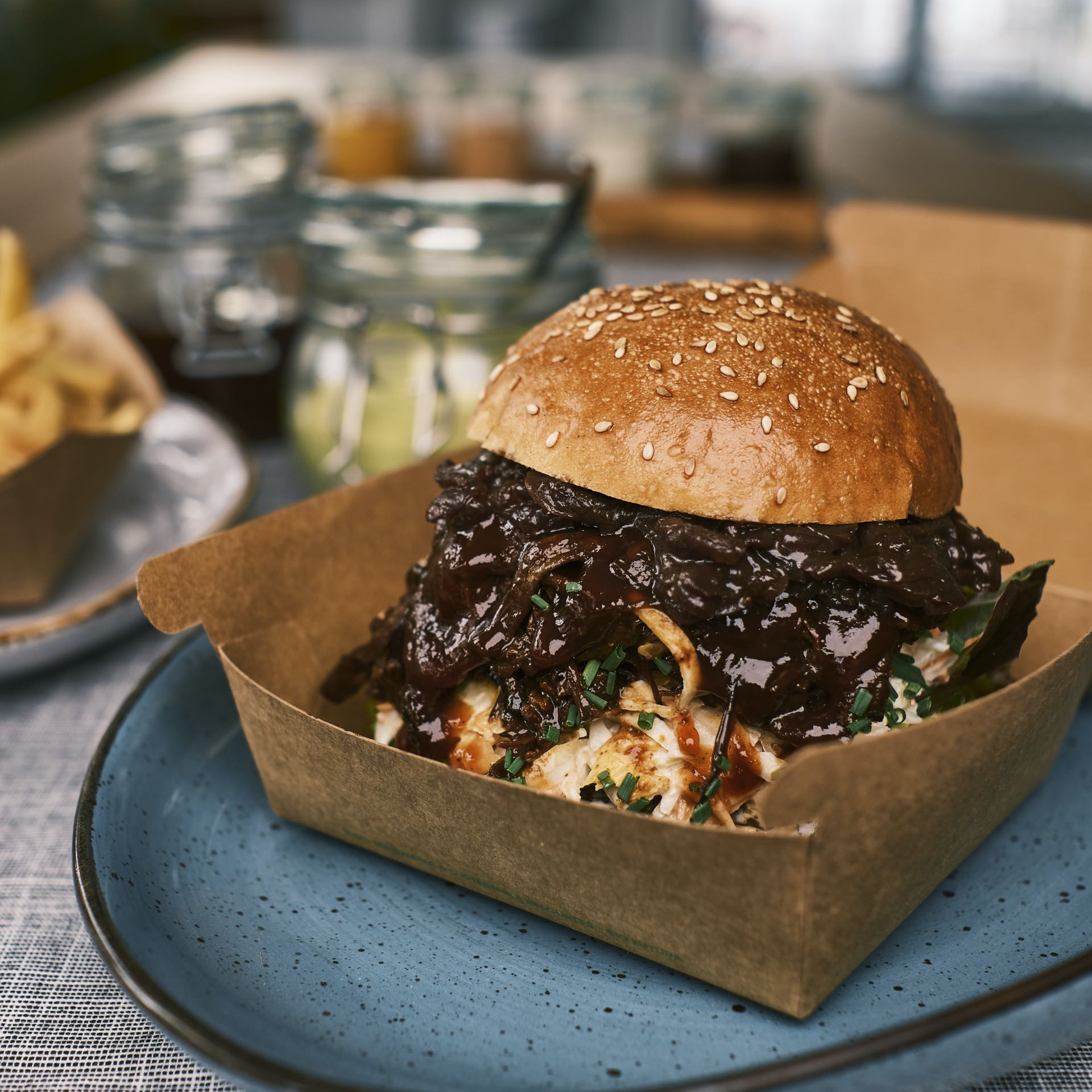 Pulled Pork Burger – OLDSCHOOL